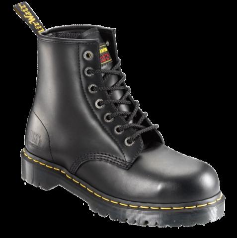 DR MARTENS  Black 7 Eyelet Boot