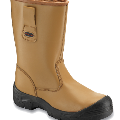 SAFETY RIGGER WITH MIDSOLE AND SCUFFCAP