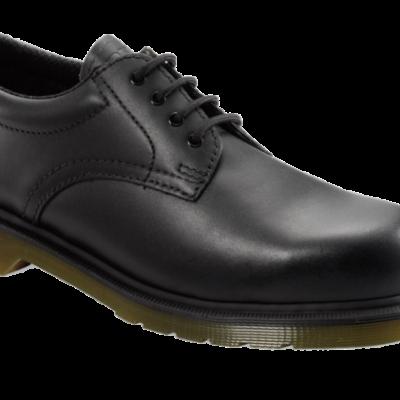 DR MARTENS Black Gibson Shoe