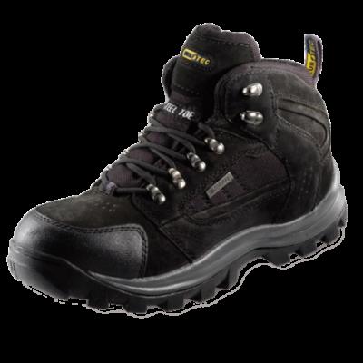 EUROTEC Black Nubuck Hiker