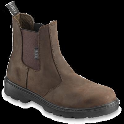CONTRACTOR Brown Dealer Boot