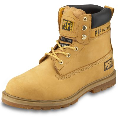 """PSF OUTBACK Honey Nubuck 6"""" Boot"""