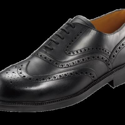 Black Lotus Brogue Shoe
