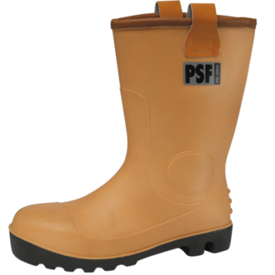 SAFETY RIGGER TAN FURLINED