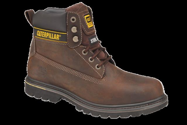 """CAT Brown 6"""" Boot"""