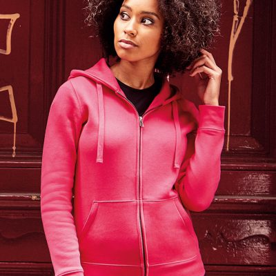 Russell Ladies Authentic Zipped Hoodie