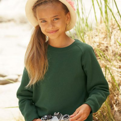 Childrens Raglan Sleeve Sweatshirt