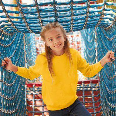Children's Set in Sleeve Sweatshirt