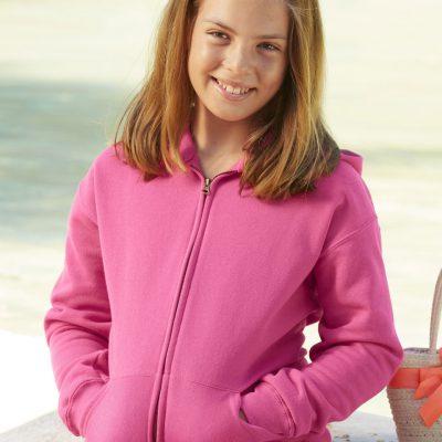 Children's Hooded Sweat Jacket