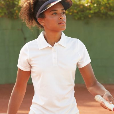 FOTL Lady-Fit Performance Polo