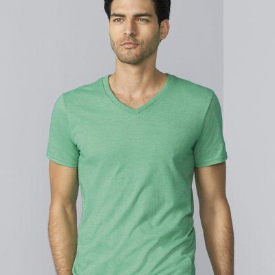 Men's Soft Style V-Neck T-Shirt