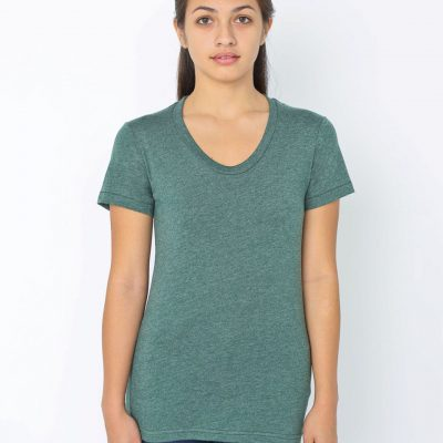 American Apparel Womens Crew Tee