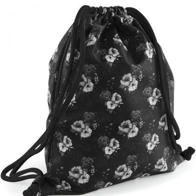 Bagbase Graphic Drawstring Backpack