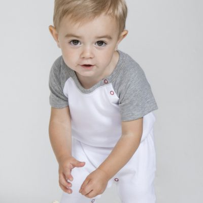 Babybugz Baby Baseball Playsuit