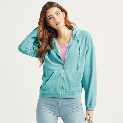 Comfort Colors Ladies Full Zip Hoodie