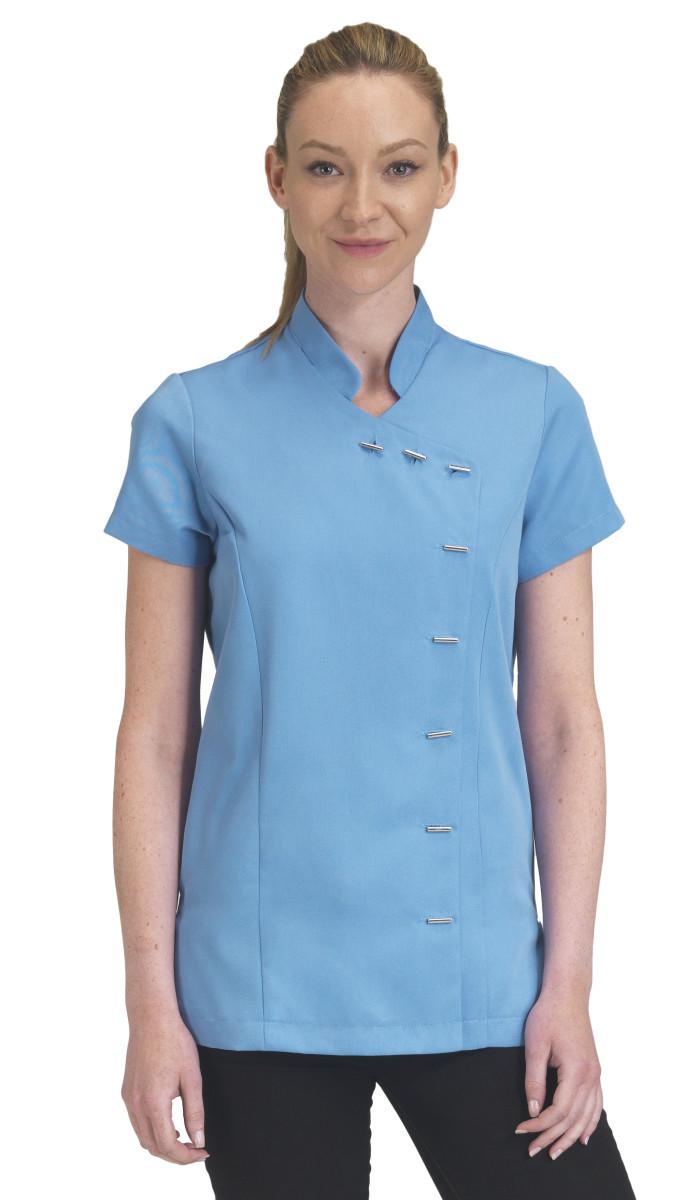 Dennys Ladies Button Beauty Tunic