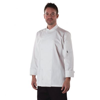 Le Chef Mens Executive L/S Chefs Jacket