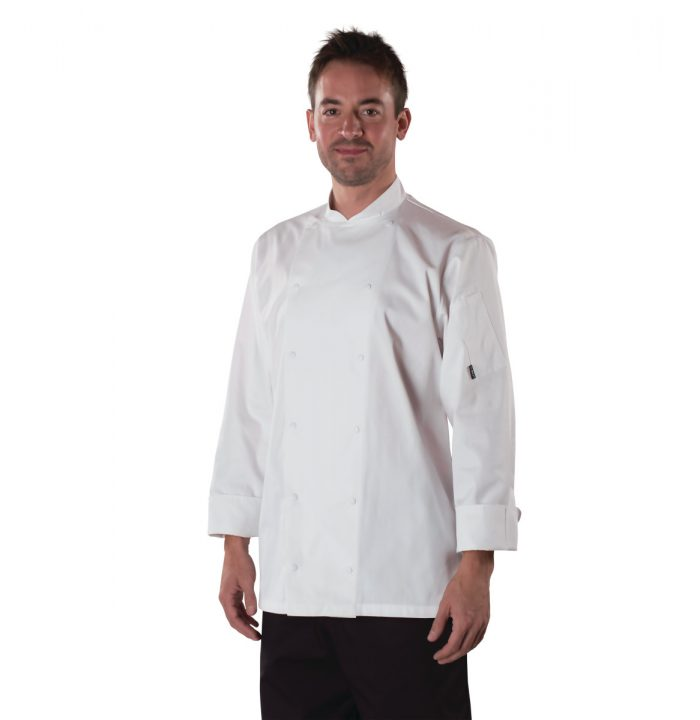 Le Chef Mens Executive L/S Chefs Jacket