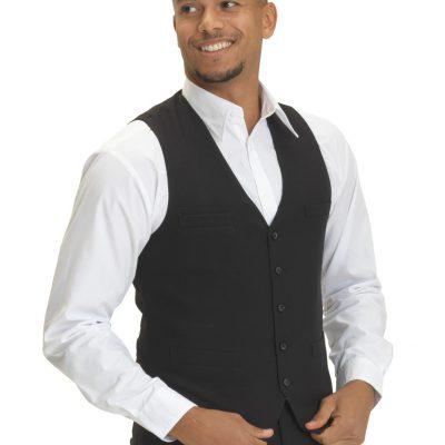 Dennys Mens Self Back Waistcoat