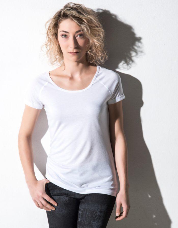 Nakedshirt Emily Viscose/Cotton Raglan T
