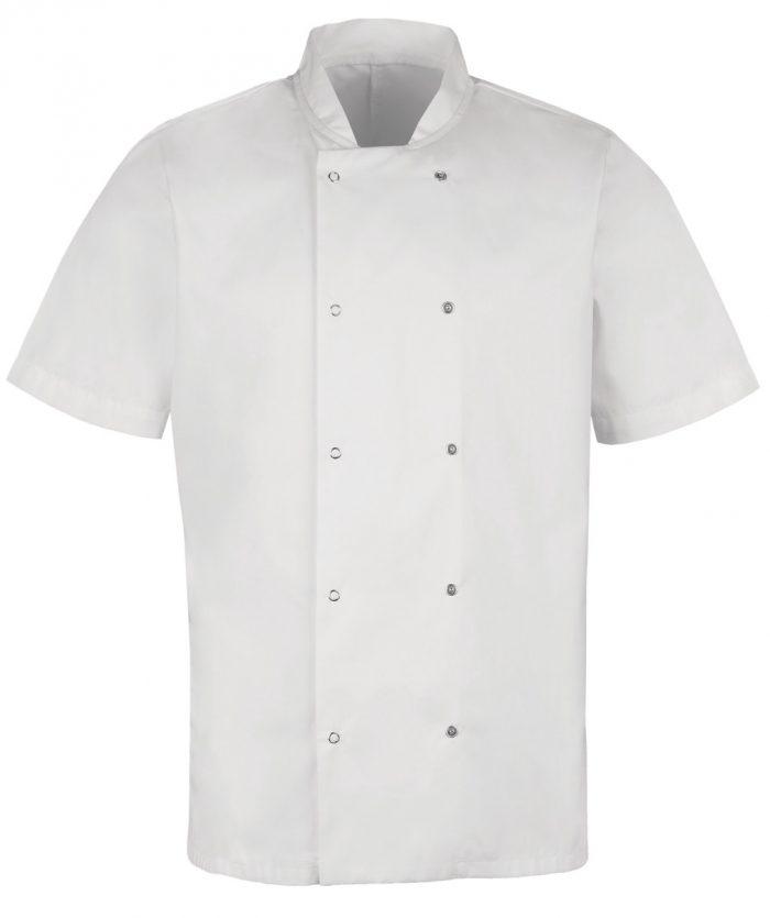 Alexandra Mens S/Sleeve Chefs Jacket