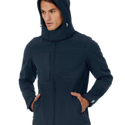 B&C Men's Hooded Softshell