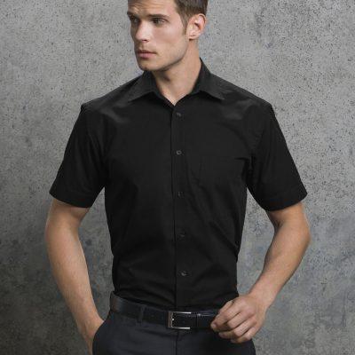 Men's Short Sleeve Business Shirt