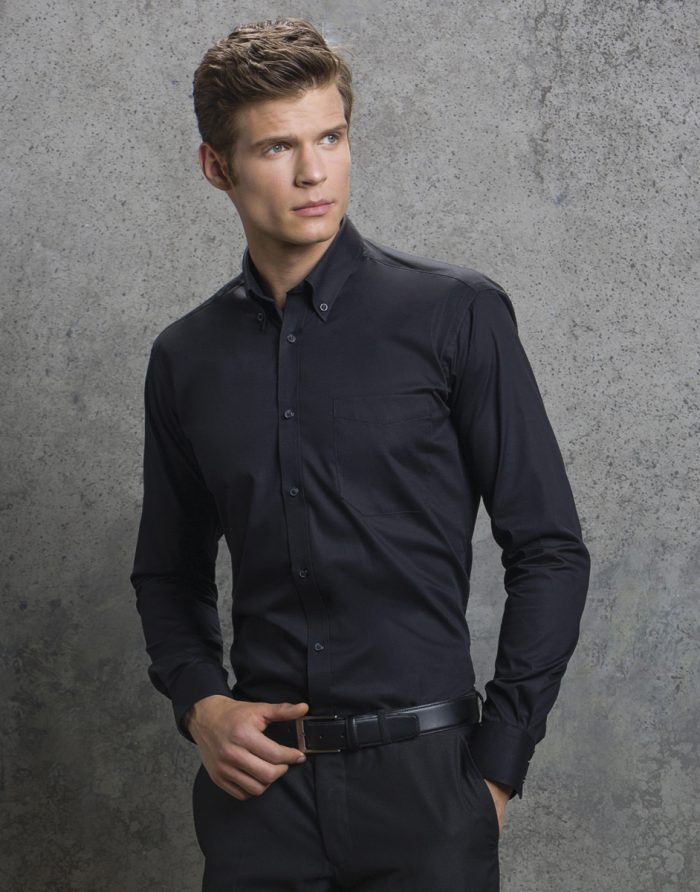 Kustom Kit L/S Premium Oxford Shirt