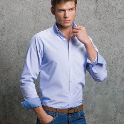 Clayton & Ford L/S Micro Check Shirt