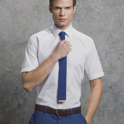 Kustom Kit Mens Slim Fit Business Shirt