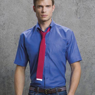 Kustom Kit Oxford S/Sleeve Shirt