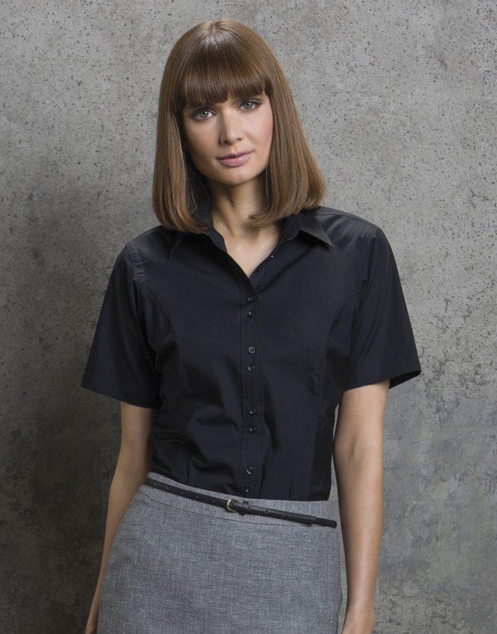Ladies' City Short Sleeve Business Shirt