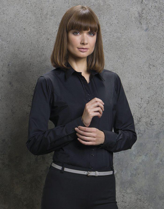 Ladies' City Long Sleeve Blouse