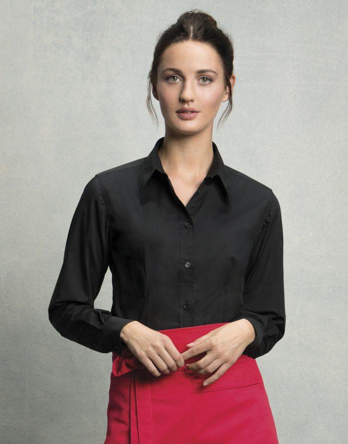 Ladies' Long Sleeved Bar Shirt