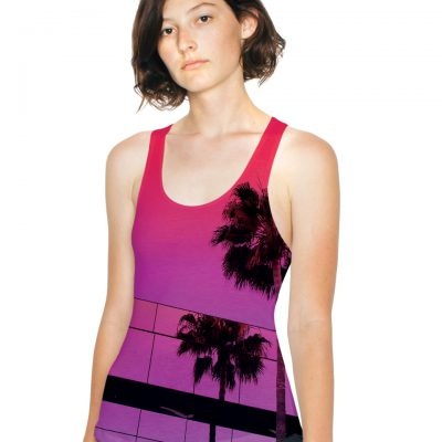 American Apparel Womens Subli Tank