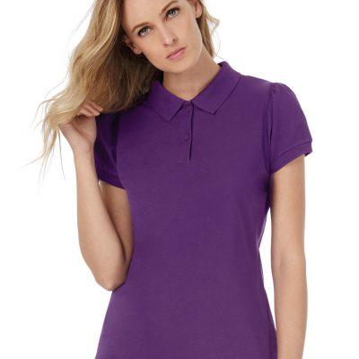 B&C Womens Heavymill Polo Shirt