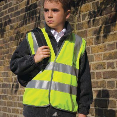Result Safeguard Junior Hi Vis Vest