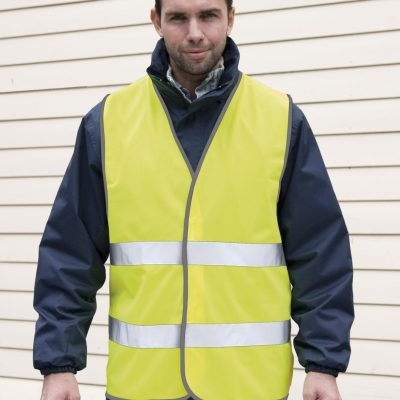 Result Safe-Guard Hi Vis Motorists Vest