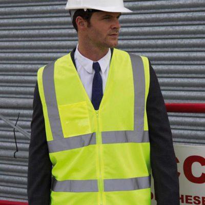 Result Safe-Guard Zip Safety Tabard