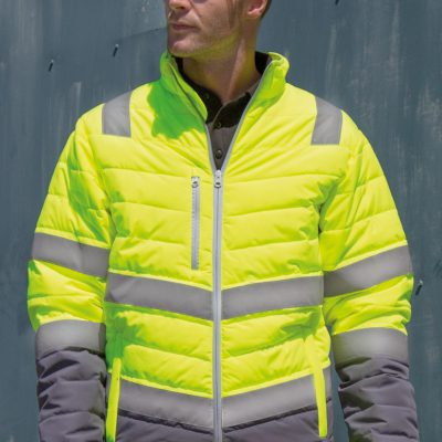 Result Safeguard Mens Safety Jacket