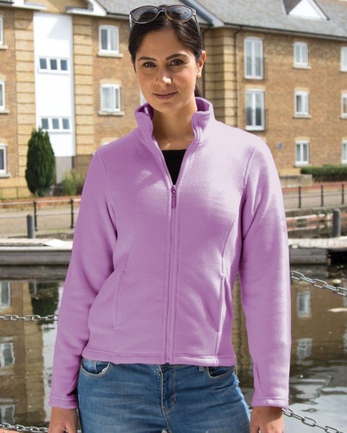La Femme Semi-Micro Fleece Jacket