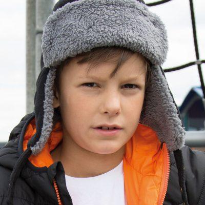Result Winter Kids Ocean Trapper Hat