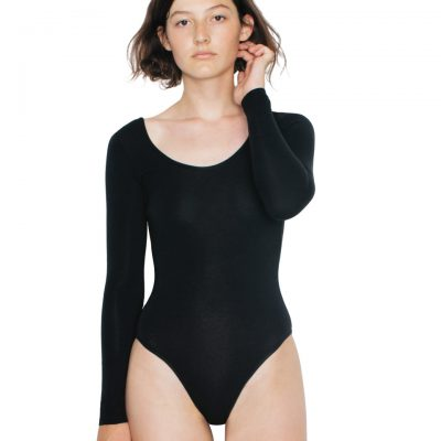 American Apparel L/S U Neck Bodysuit