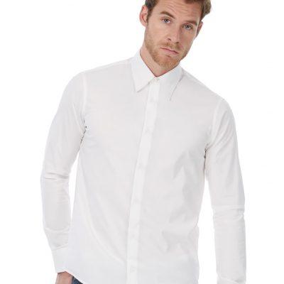 B&C London Mens Poplin Shirt