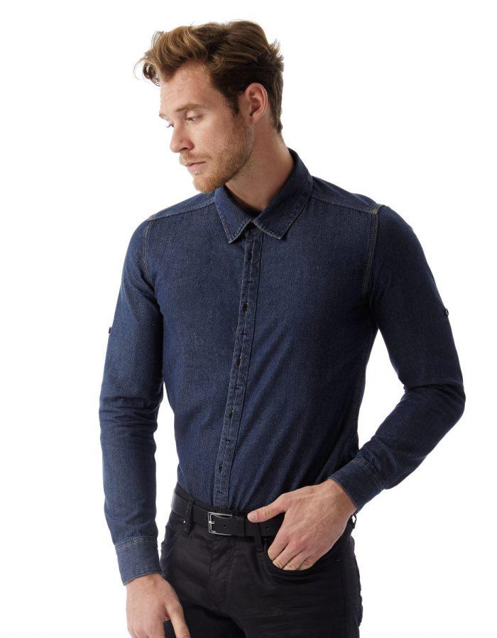 B&C DNM Vision Mens Denim Shirt