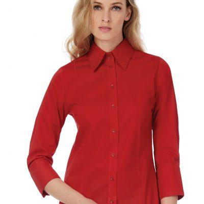 B&C Milano Womens Poplin Shirt