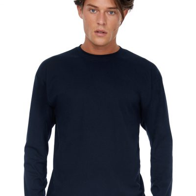 B&C Mens Exact 150 LSL T-Shirt