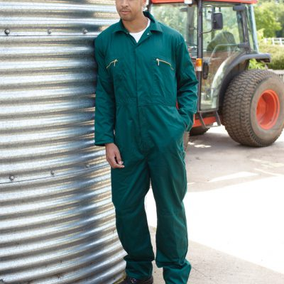 Redhawk Zip Front Coverall Tall