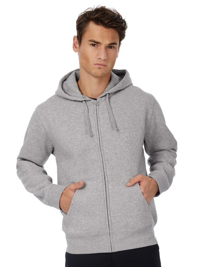 B&C Hooded Mens Full Zip